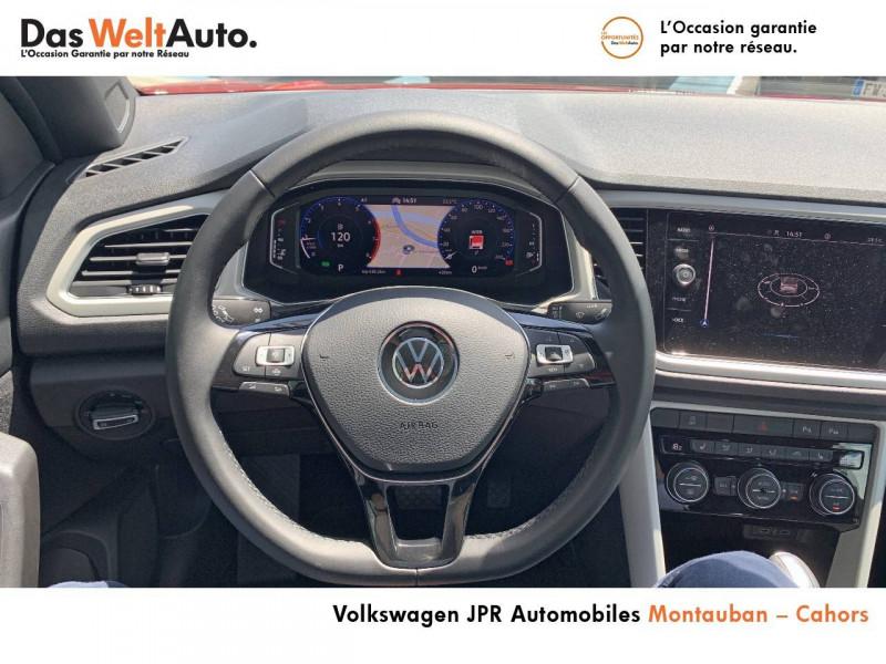 Volkswagen T-Roc T-Roc Cabriolet 1.5 TSI EVO 150 Start/Stop DSG7 Style 2p  occasion à Cahors - photo n°10