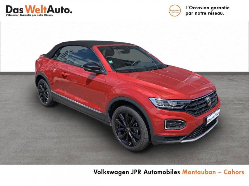 Volkswagen T-Roc T-Roc Cabriolet 1.5 TSI EVO 150 Start/Stop DSG7 Style 2p  occasion à Cahors - photo n°3