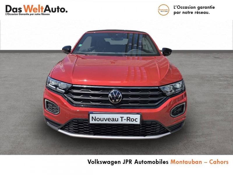 Volkswagen T-Roc T-Roc Cabriolet 1.5 TSI EVO 150 Start/Stop DSG7 Style 2p  occasion à Cahors - photo n°2