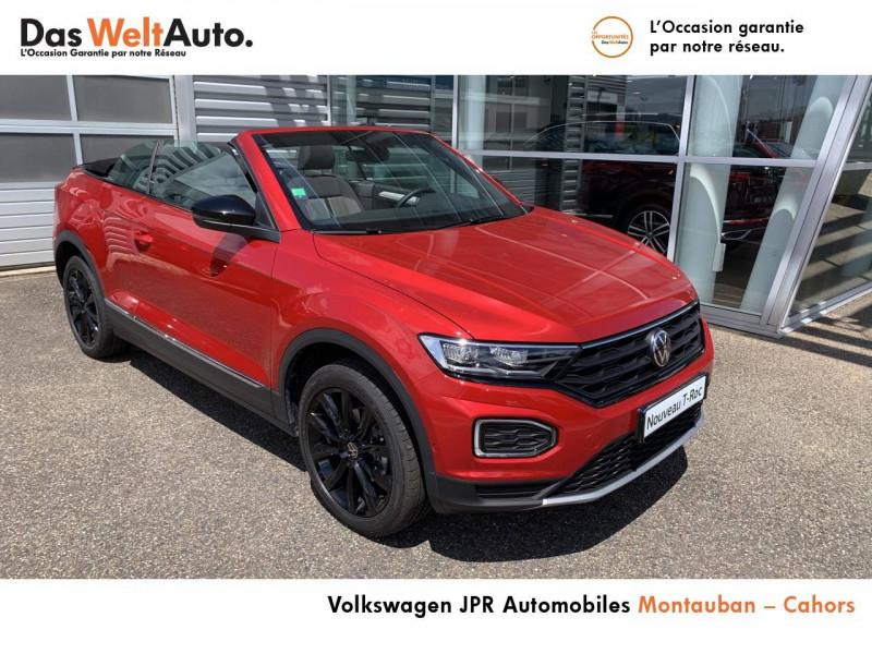 Volkswagen T-Roc T-Roc Cabriolet 1.5 TSI EVO 150 Start/Stop DSG7 Style 2p  occasion à Cahors - photo n°8