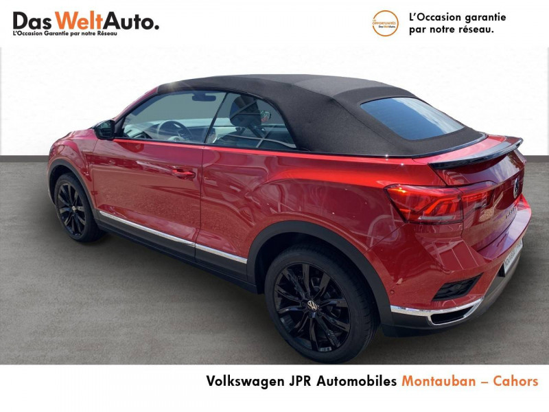 Volkswagen T-Roc T-Roc Cabriolet 1.5 TSI EVO 150 Start/Stop DSG7 Style 2p  occasion à Cahors - photo n°4