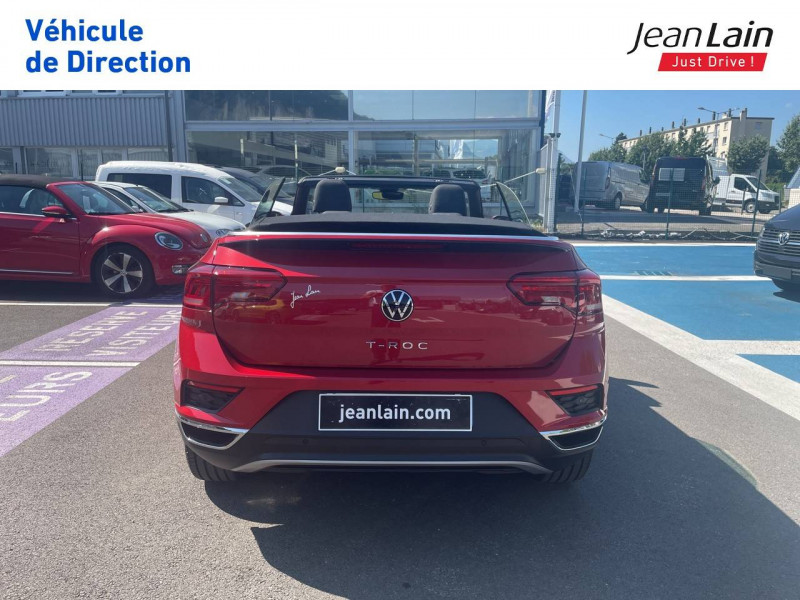 Volkswagen T-Roc T-Roc Cabriolet 1.5 TSI EVO 150 Start/Stop DSG7 Style 2p Rouge occasion à Fontaine - photo n°6