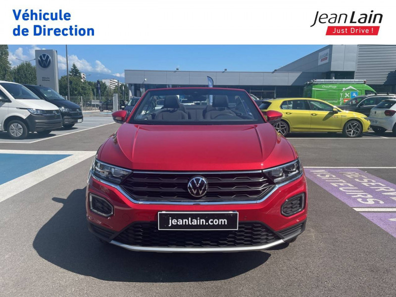 Volkswagen T-Roc T-Roc Cabriolet 1.5 TSI EVO 150 Start/Stop DSG7 Style 2p Rouge occasion à Fontaine - photo n°2