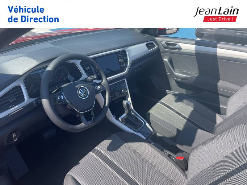 Volkswagen T-Roc T-Roc Cabriolet 1.5 TSI EVO 150 Start/Stop DSG7 Style 2p Rouge occasion à Fontaine - photo n°11
