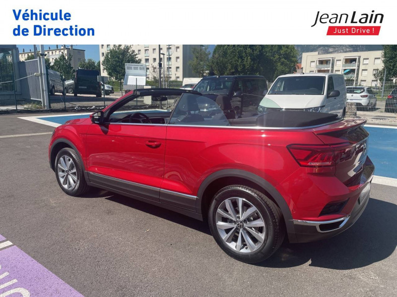Volkswagen T-Roc T-Roc Cabriolet 1.5 TSI EVO 150 Start/Stop DSG7 Style 2p Rouge occasion à Fontaine - photo n°7