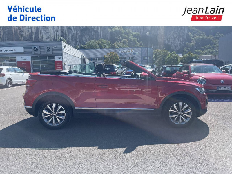 Volkswagen T-Roc T-Roc Cabriolet 1.5 TSI EVO 150 Start/Stop DSG7 Style 2p Rouge occasion à Fontaine - photo n°4