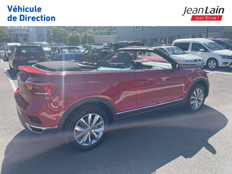 Volkswagen T-Roc T-Roc Cabriolet 1.5 TSI EVO 150 Start/Stop DSG7 Style 2p Rouge occasion à Fontaine - photo n°5