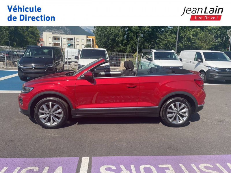 Volkswagen T-Roc T-Roc Cabriolet 1.5 TSI EVO 150 Start/Stop DSG7 Style 2p Rouge occasion à Fontaine - photo n°8