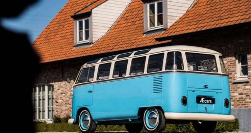 Volkswagen T1 AMBIENT LIGHT - OPEN ROOF - FULL RESTORATION Bleu occasion à IZEGEM - photo n°2