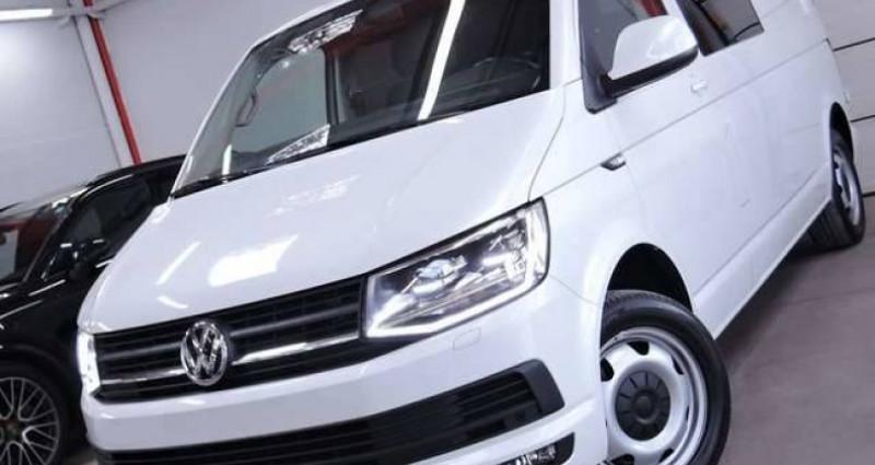 Volkswagen T6 Caravelle 2.OTDI 2O4CV DSG MATRIX LED DOUBLE CABINE LONG Blanc occasion à Sombreffe