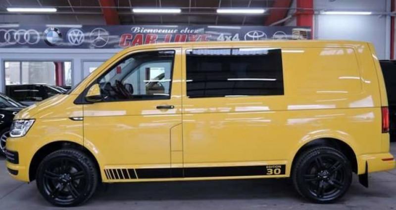 Volkswagen T6 Transporter 2.OTDI 14OCV Jaune occasion à Sombreffe - photo n°4