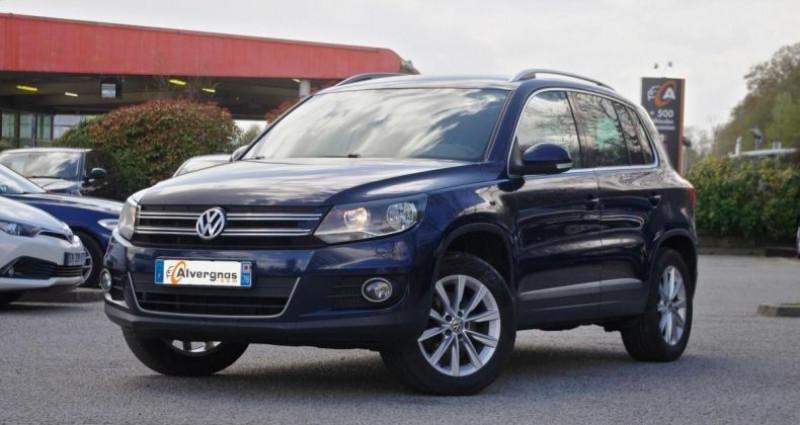 Volkswagen Tiguan (2) 1.4 TSI 160 BLUEMOTION TECHNOLOGY SPORTLINE 4MOTION Bleu occasion à Chambourcy