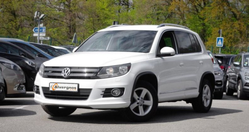 Volkswagen Tiguan (2) 1.4 TSI 160 BLUEMOTION TECHNOLOGY SPORTLINE PACK R-LINE Blanc occasion à Chambourcy