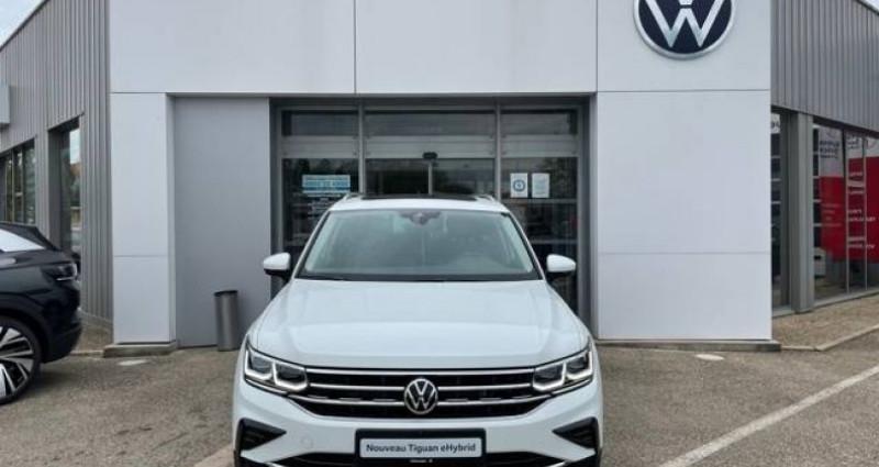 Volkswagen Tiguan 1.4 eHybrid 245ch DSG6 Elegance Exclusive Blanc occasion à Bourgogne - photo n°3