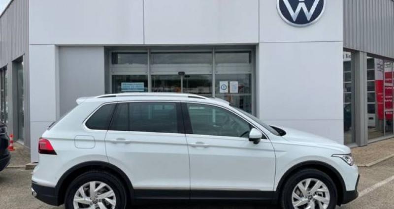 Volkswagen Tiguan 1.4 eHybrid 245ch DSG6 Elegance Exclusive Blanc occasion à Bourgogne - photo n°6