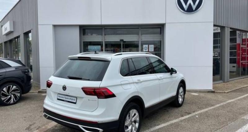 Volkswagen Tiguan 1.4 eHybrid 245ch DSG6 Elegance Exclusive Blanc occasion à Bourgogne - photo n°7