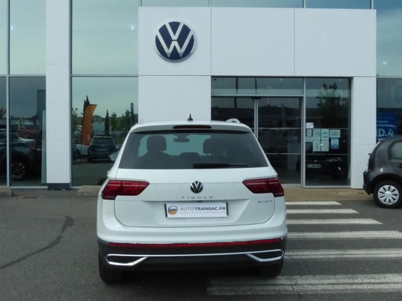 Volkswagen Tiguan 1.4 eHybrid 245ch Elegance DSG6 Blanc occasion à Onet-le-Château - photo n°5