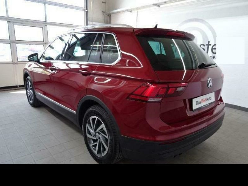 Volkswagen Tiguan 1.4 TSI 150 cv Rouge occasion à Beaupuy - photo n°3