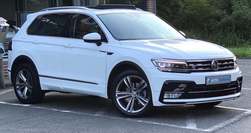Volkswagen Tiguan 1.4 TSI DSG-7 R-LINE ÉDITION FULL OPTIONS Blanc occasion à MAZY - photo n°3