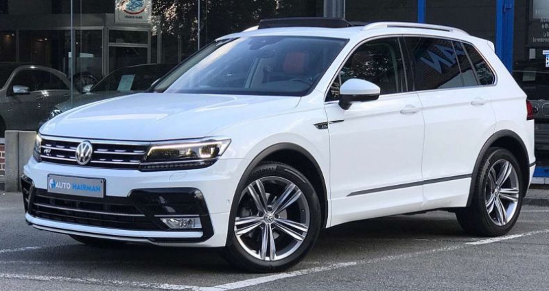 Volkswagen Tiguan 1.4 TSI DSG-7 R-LINE ÉDITION FULL OPTIONS Blanc occasion à MAZY