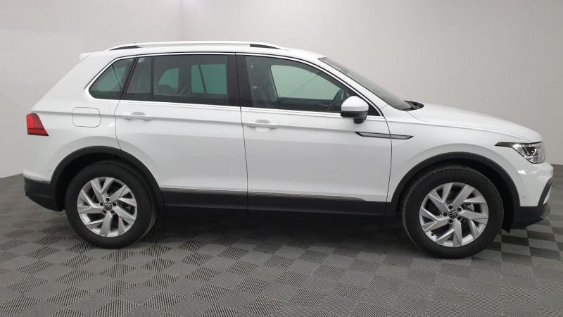 Volkswagen Tiguan 1.5 tsi 150cv evo dsg7 life + camera de recul + pack keyless Blanc occasion à Ganges - photo n°3