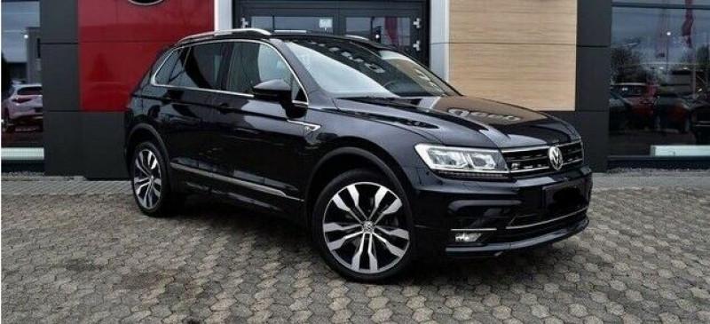 Volkswagen Tiguan 2.0 BI-TDI 240CH CARAT EXCLUSIVE 4MOTION DSG7 Noir occasion à Villenave-d'Ornon