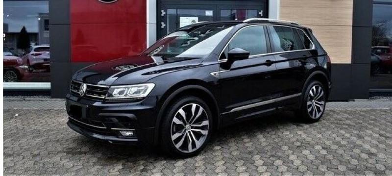 Volkswagen Tiguan 2.0 BI-TDI 240CH CARAT EXCLUSIVE 4MOTION DSG7 Noir occasion à Villenave-d'Ornon - photo n°4
