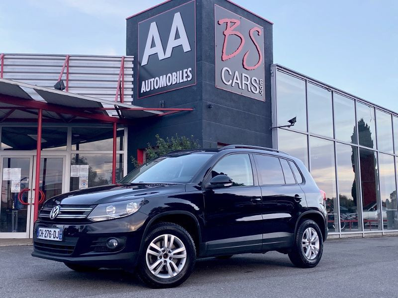 Volkswagen Tiguan 2.0 TDI 110ch BlueMotion FAP Noir occasion à Castelmaurou