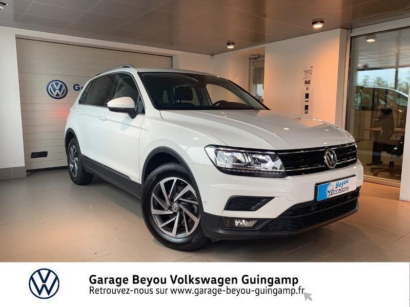 Volkswagen Tiguan 2.0 TDI 115ch Sound Blanc occasion à Saint Agathon