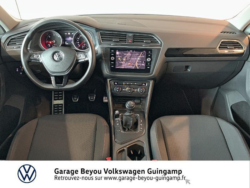 Volkswagen Tiguan 2.0 TDI 115ch Sound Blanc occasion à Saint Agathon - photo n°6
