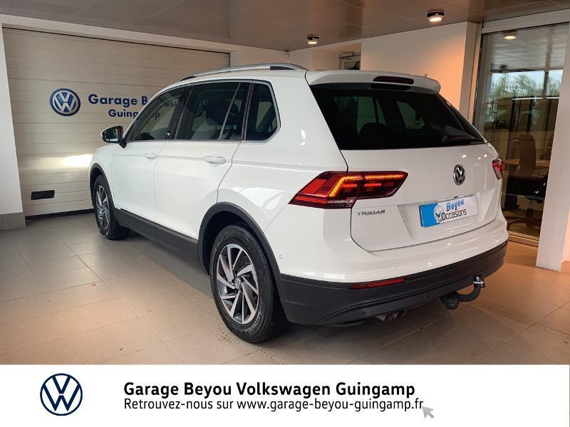 Volkswagen Tiguan 2.0 TDI 115ch Sound Blanc occasion à Saint Agathon - photo n°3