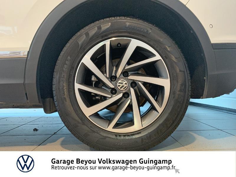 Volkswagen Tiguan 2.0 TDI 115ch Sound Blanc occasion à Saint Agathon - photo n°16