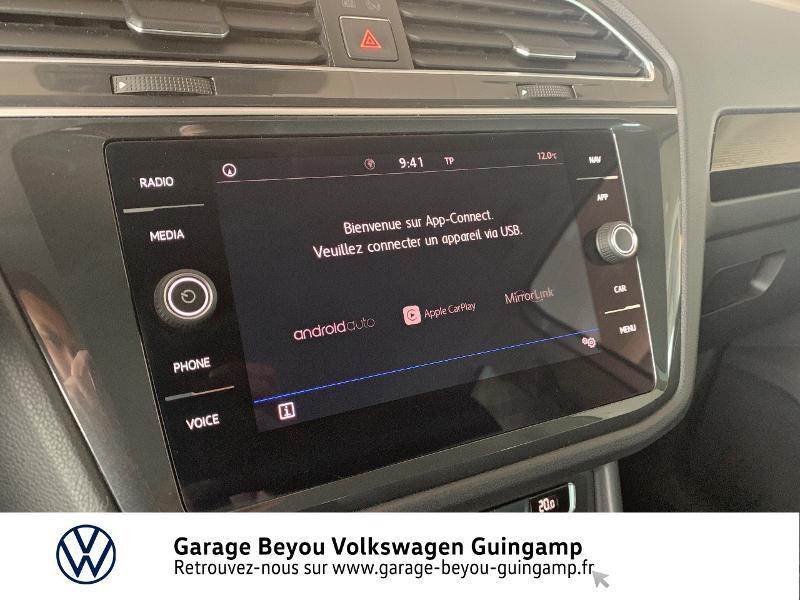 Volkswagen Tiguan 2.0 TDI 115ch Sound Blanc occasion à Saint Agathon - photo n°17