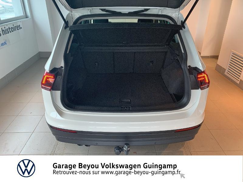 Volkswagen Tiguan 2.0 TDI 115ch Sound Blanc occasion à Saint Agathon - photo n°12
