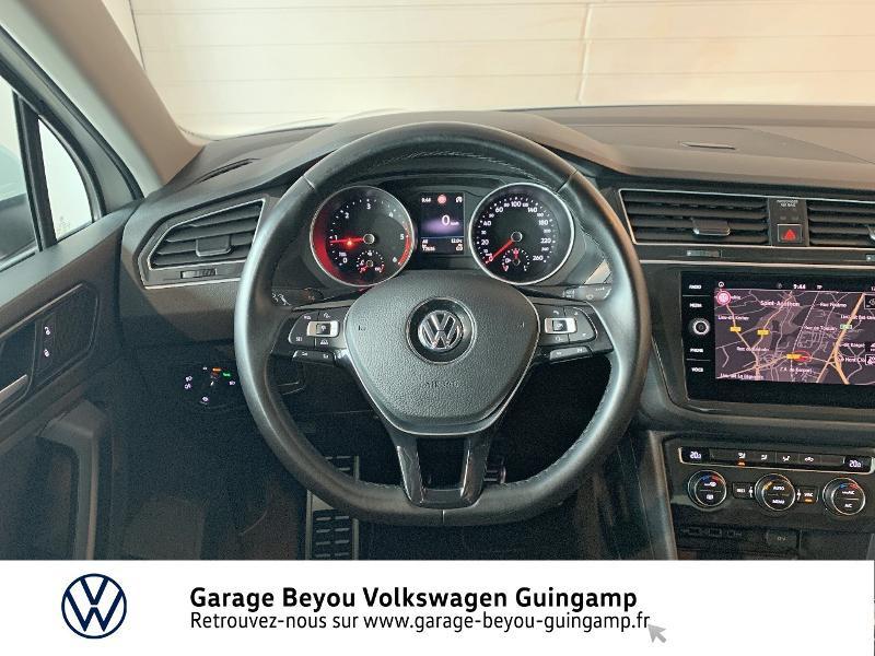 Volkswagen Tiguan 2.0 TDI 115ch Sound Blanc occasion à Saint Agathon - photo n°7