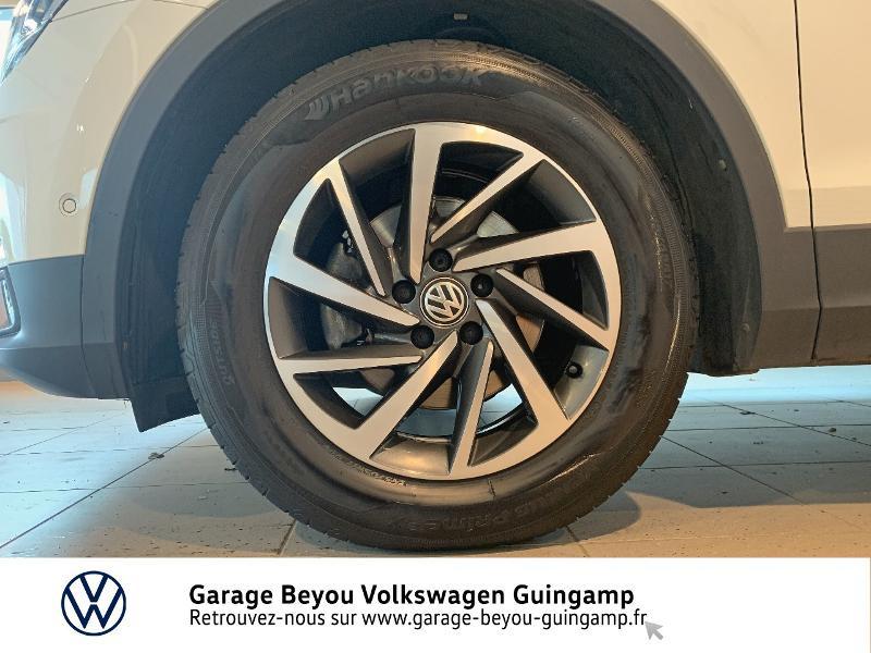 Volkswagen Tiguan 2.0 TDI 115ch Sound Blanc occasion à Saint Agathon - photo n°15