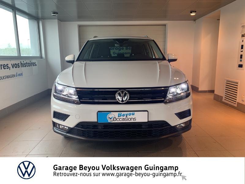 Volkswagen Tiguan 2.0 TDI 115ch Sound Blanc occasion à Saint Agathon - photo n°5