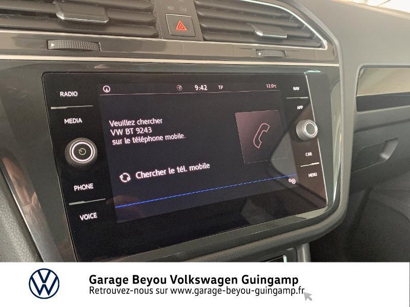 Volkswagen Tiguan 2.0 TDI 115ch Sound Blanc occasion à Saint Agathon - photo n°19
