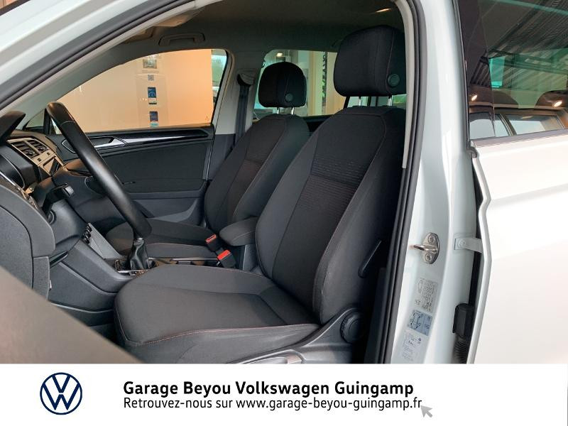 Volkswagen Tiguan 2.0 TDI 115ch Sound Blanc occasion à Saint Agathon - photo n°20