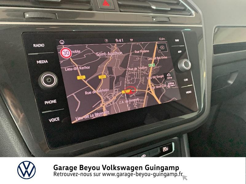 Volkswagen Tiguan 2.0 TDI 115ch Sound Blanc occasion à Saint Agathon - photo n°8