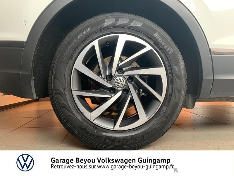 Volkswagen Tiguan 2.0 TDI 115ch Sound Blanc occasion à Saint Agathon - photo n°14
