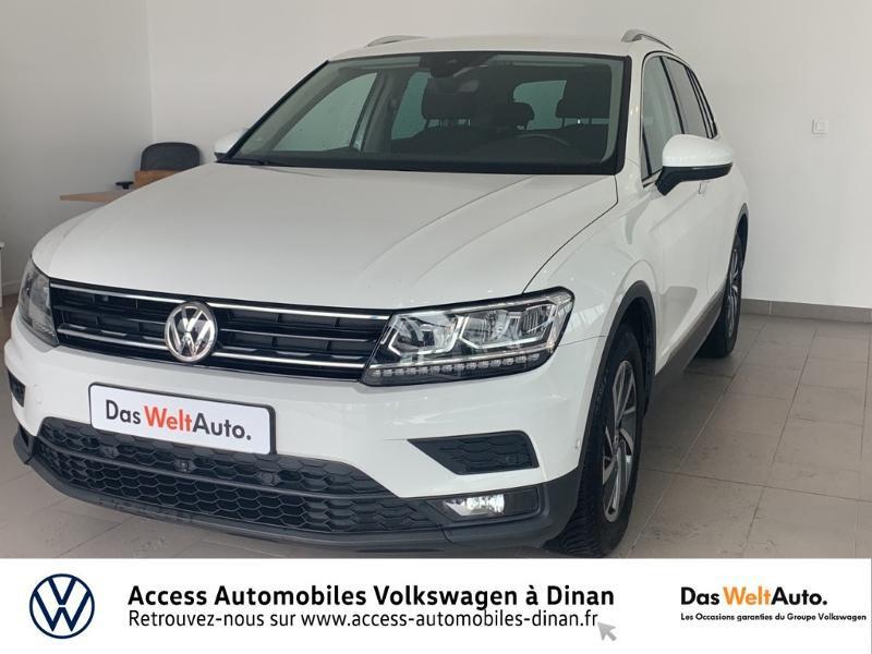 Volkswagen Tiguan 2.0 TDI 115ch Sound Blanc occasion à QUEVERT