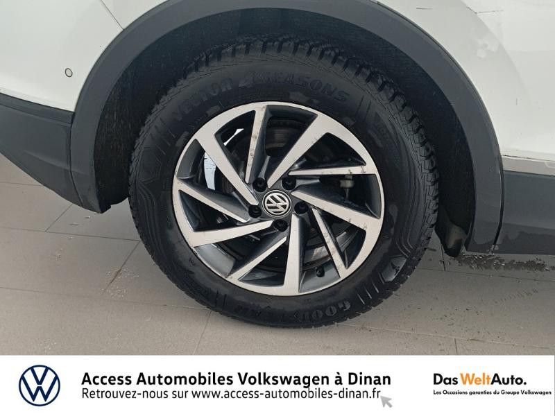 Volkswagen Tiguan 2.0 TDI 115ch Sound Blanc occasion à QUEVERT - photo n°17