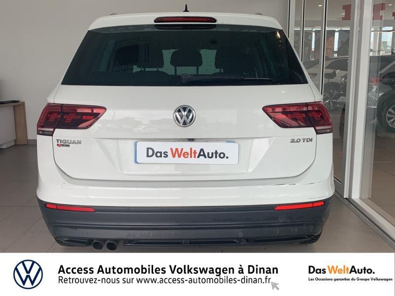 Volkswagen Tiguan 2.0 TDI 115ch Sound Blanc occasion à QUEVERT - photo n°5
