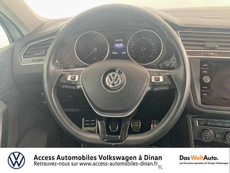 Volkswagen Tiguan 2.0 TDI 115ch Sound Blanc occasion à QUEVERT - photo n°7