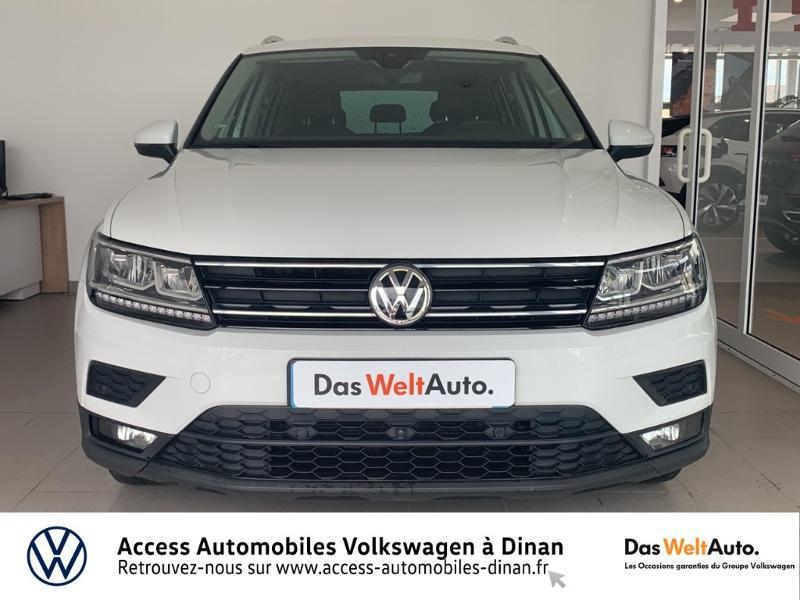 Volkswagen Tiguan 2.0 TDI 115ch Sound Blanc occasion à QUEVERT - photo n°2