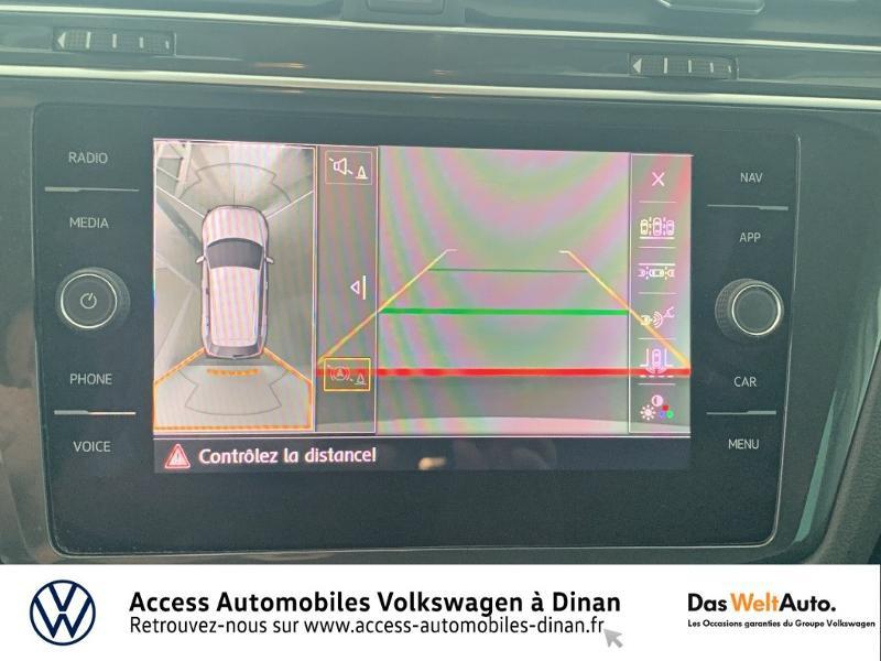 Volkswagen Tiguan 2.0 TDI 115ch Sound Blanc occasion à QUEVERT - photo n°9
