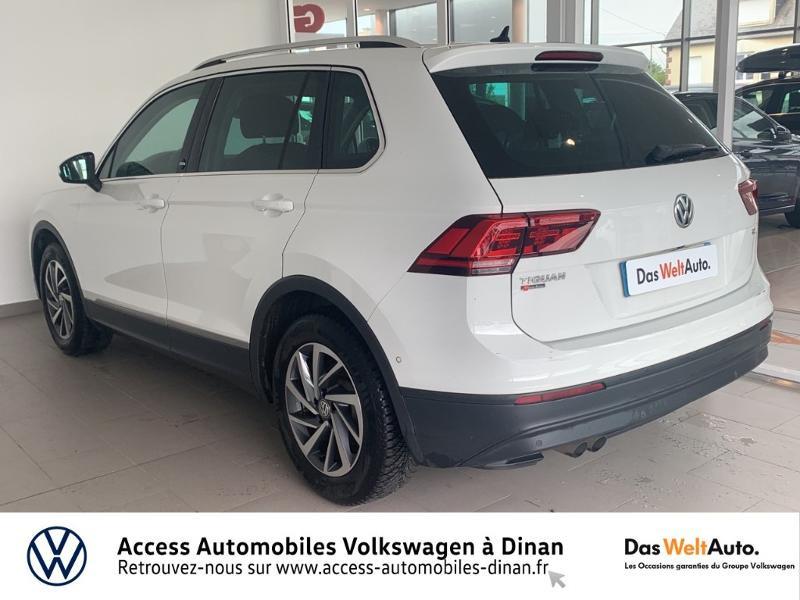 Volkswagen Tiguan 2.0 TDI 115ch Sound Blanc occasion à QUEVERT - photo n°4