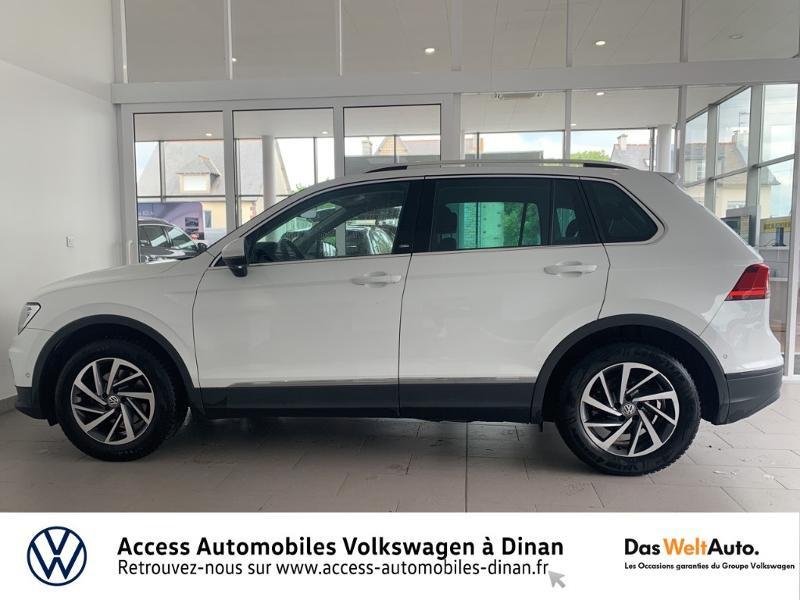 Volkswagen Tiguan 2.0 TDI 115ch Sound Blanc occasion à QUEVERT - photo n°3