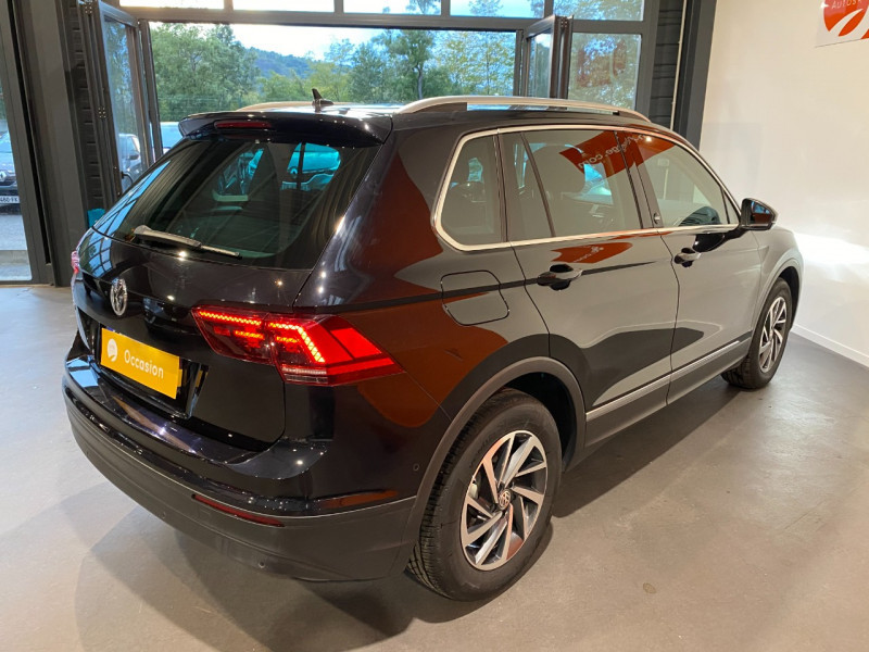 Volkswagen Tiguan 2.0 TDI 115CH SOUND Noir occasion à Foix - photo n°4